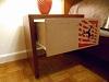 Tables de nuit carton/bois
