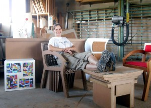 Atelier carton bois